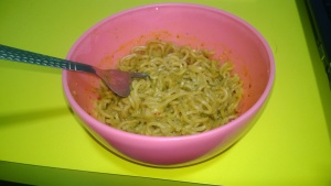 The 3am maggi cooked by my friend in office